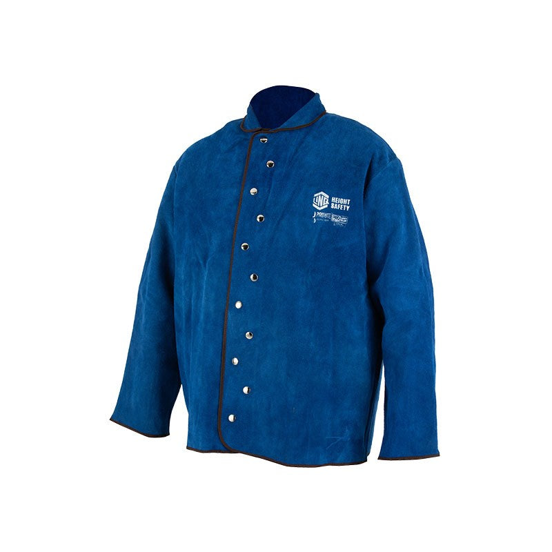 Linq Blue Welding Jacket With Harness Access Point