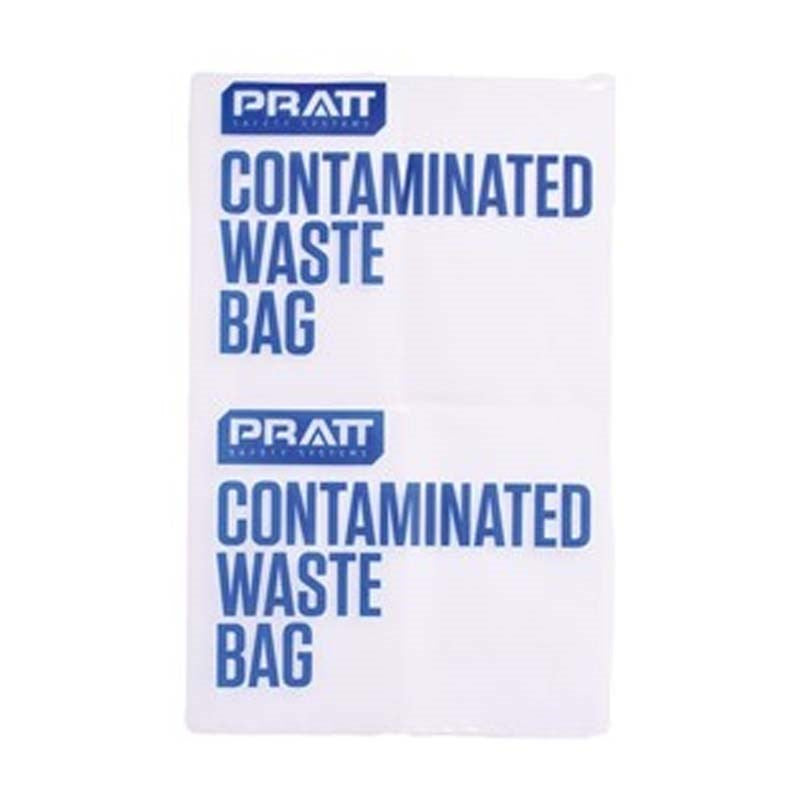 Pratt Contaminated Waste Bag  10/Pack