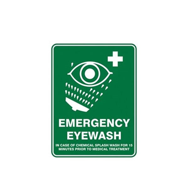 Emergency Eye Wash Pic Sign
