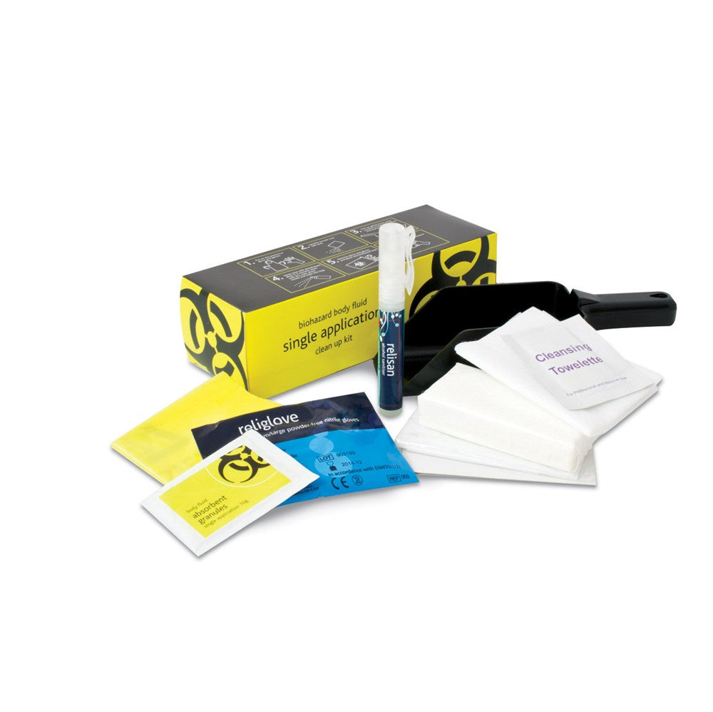 FastAid Biohazard BODY FLUID Kit - Single Use