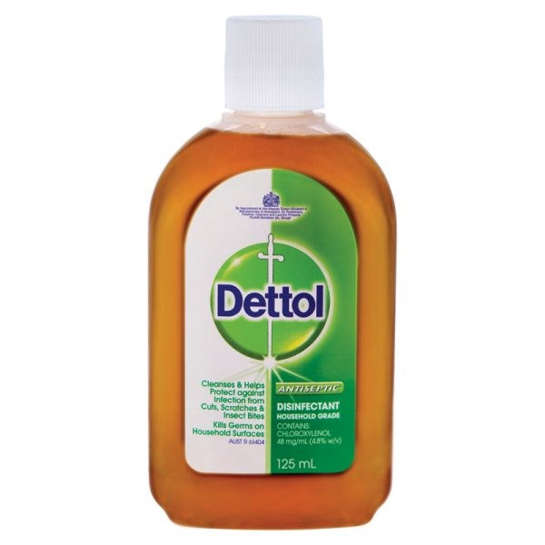 FastAid Dettol Antiseptic Liquid 125ml [MOQ:6]