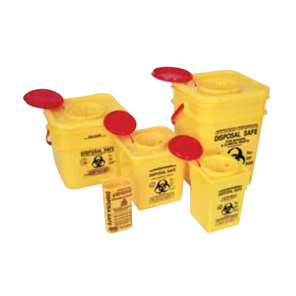 FastAid Sharps Container (Yellow plastic)