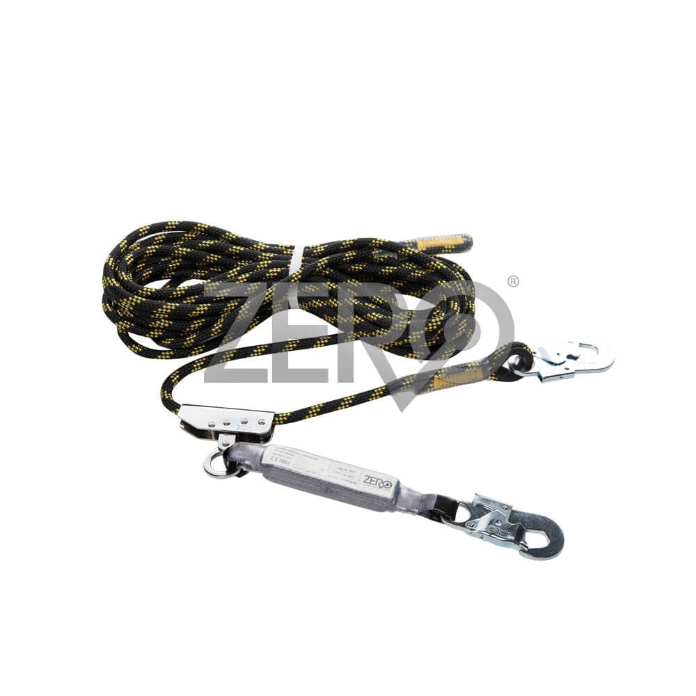 ZERO ZRL Kernmantle Rope Roofer Line with Length Adjuster