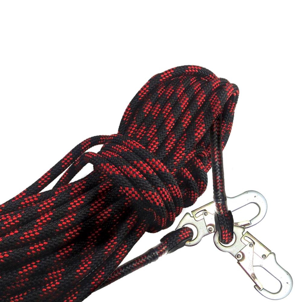Ferno Hi-Safe Kernmantle Rope Safety Line with Double Hooks Both Ends