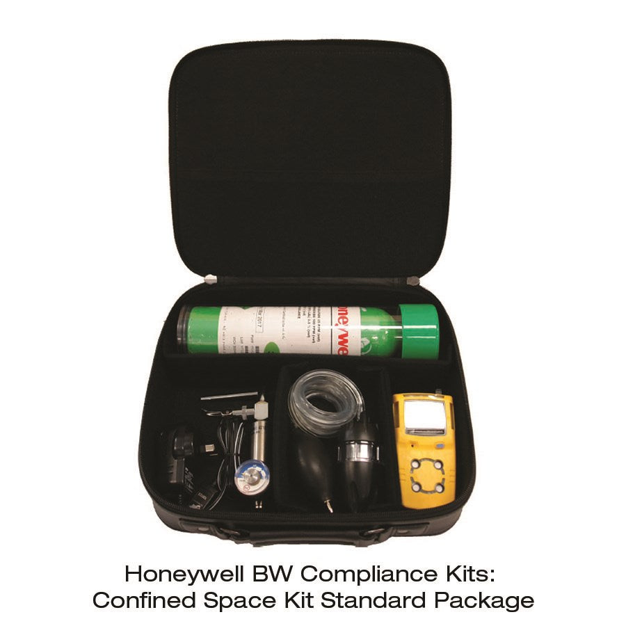 Honeywell Gas Monitor Detector Range: MicroClip Confined Space Kit