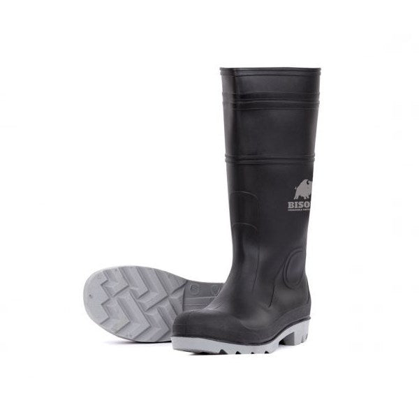 Argyle PVC Safety Gumboot