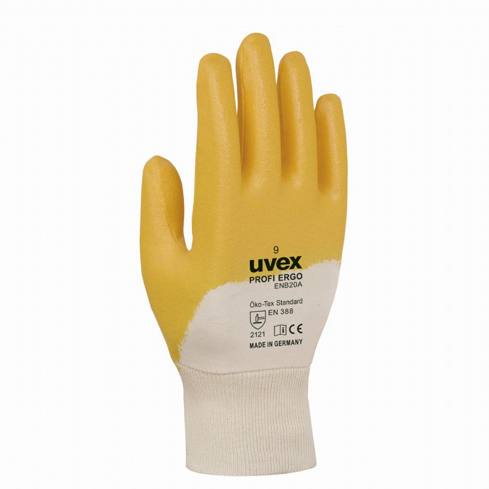 uvex profi ergo palm coat all-round work gloves