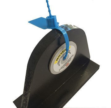 Cirlock Pad Eye Lockout for hole size up to 30mm. Incl. 2 discs and 2 security seals