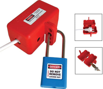 Cirlock Large Plug Lockout - 3 phase plug