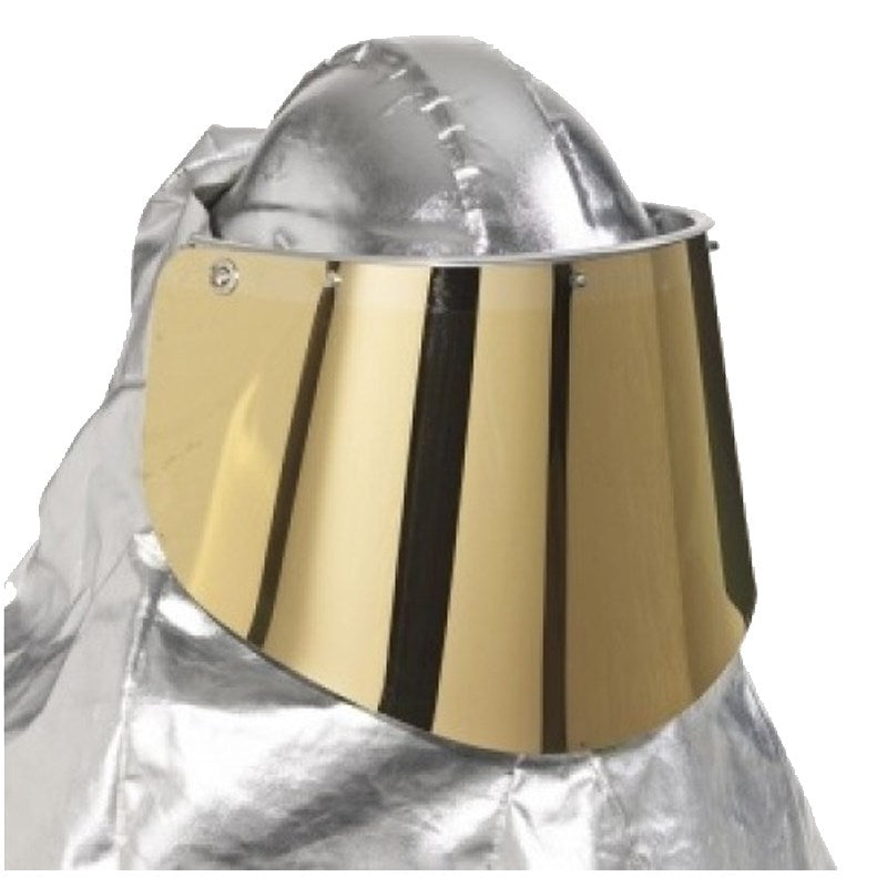 PureFlo Heat-resist Visor for furnaces - Gold-Coated Green