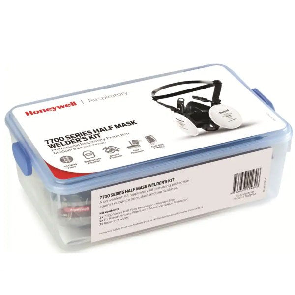 Honeywell 7700 Welders Mask Kit Lunchbox P2/OV