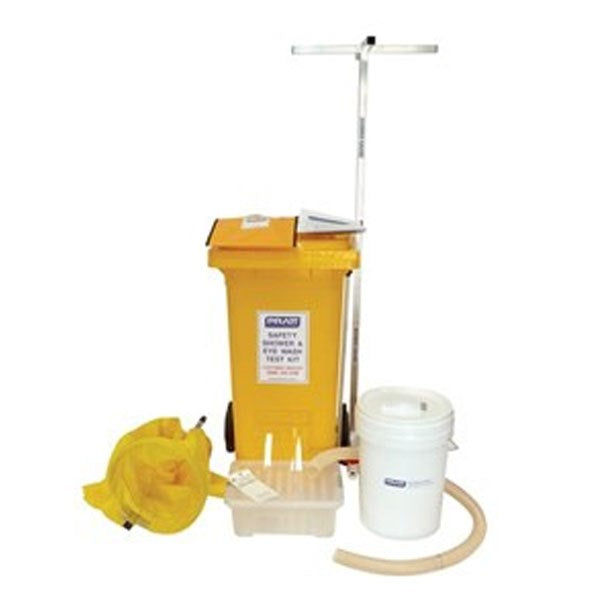 Pratt Shower Test Kit With Bin