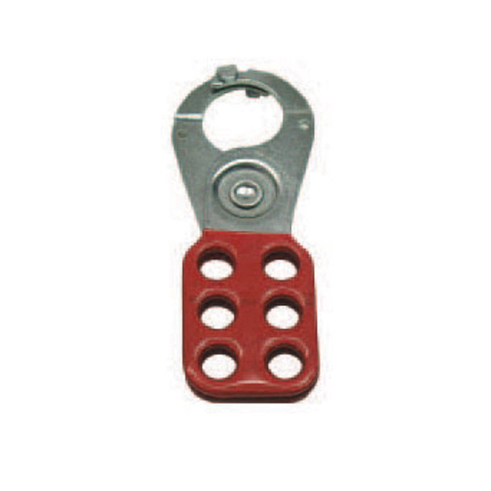 Cirlock Lockout Hasp Standard with 25mm Jaws - RED Coating