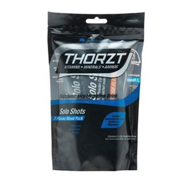 Thorzt Low Gi Solo Shot Mixed Pack 26G