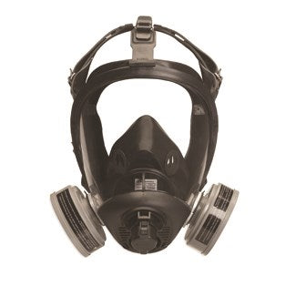 Honeywell Optifit Convertible Full face Mask 5 Strap APR Full Face Respirator Kit