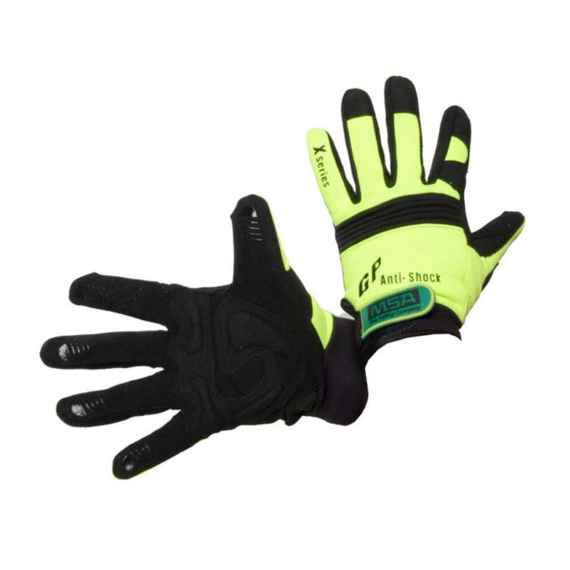 MSA Mechanics Anti-Shock Gloves - 12 Pack