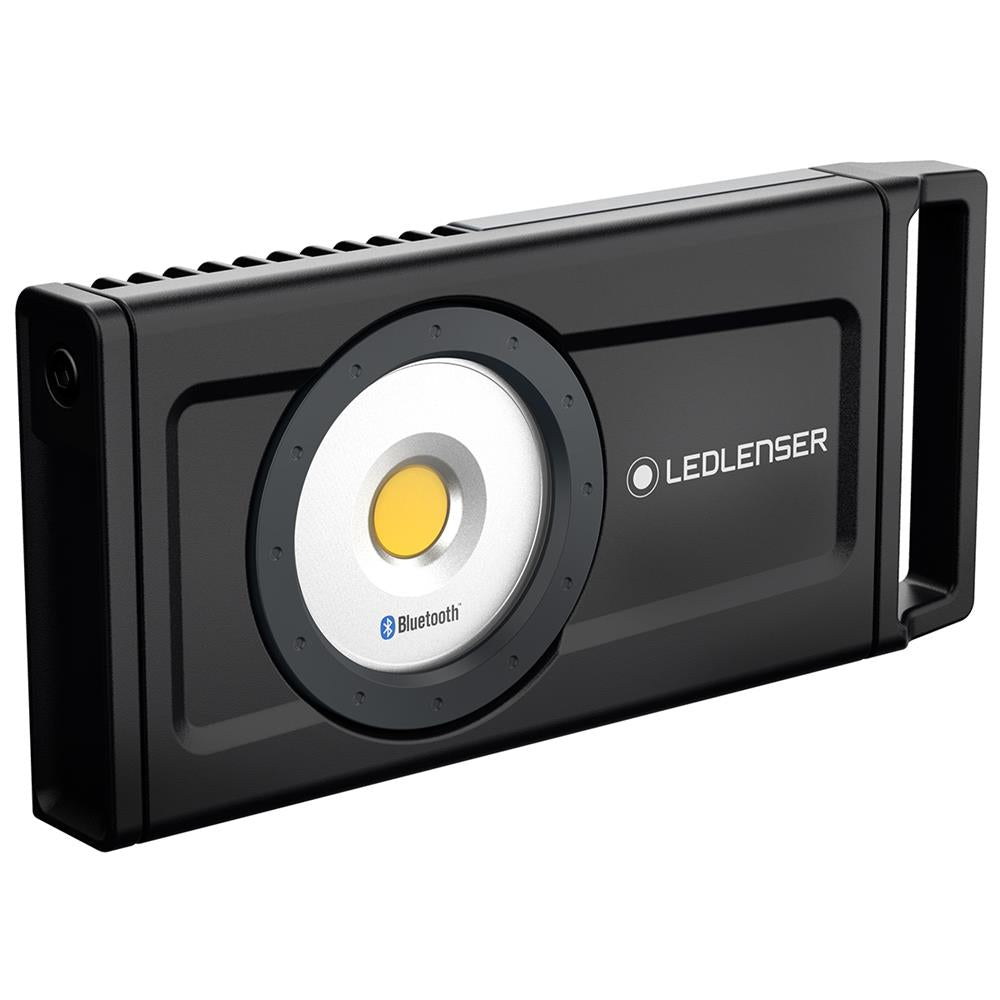 Led Lenser Industrial iF8R Heavy Duty Flood Work Light - Rechargeable with Bluetooth