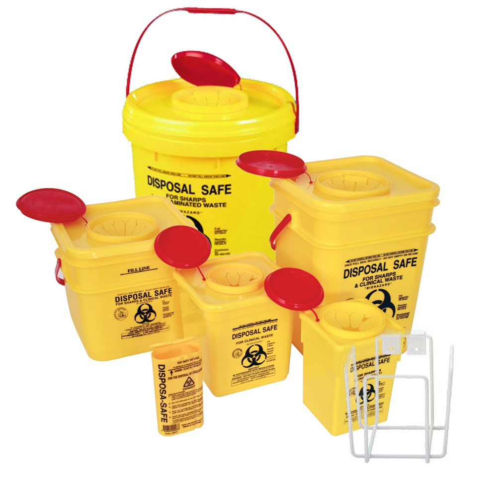 Fastaid First Aid Sharps Containers