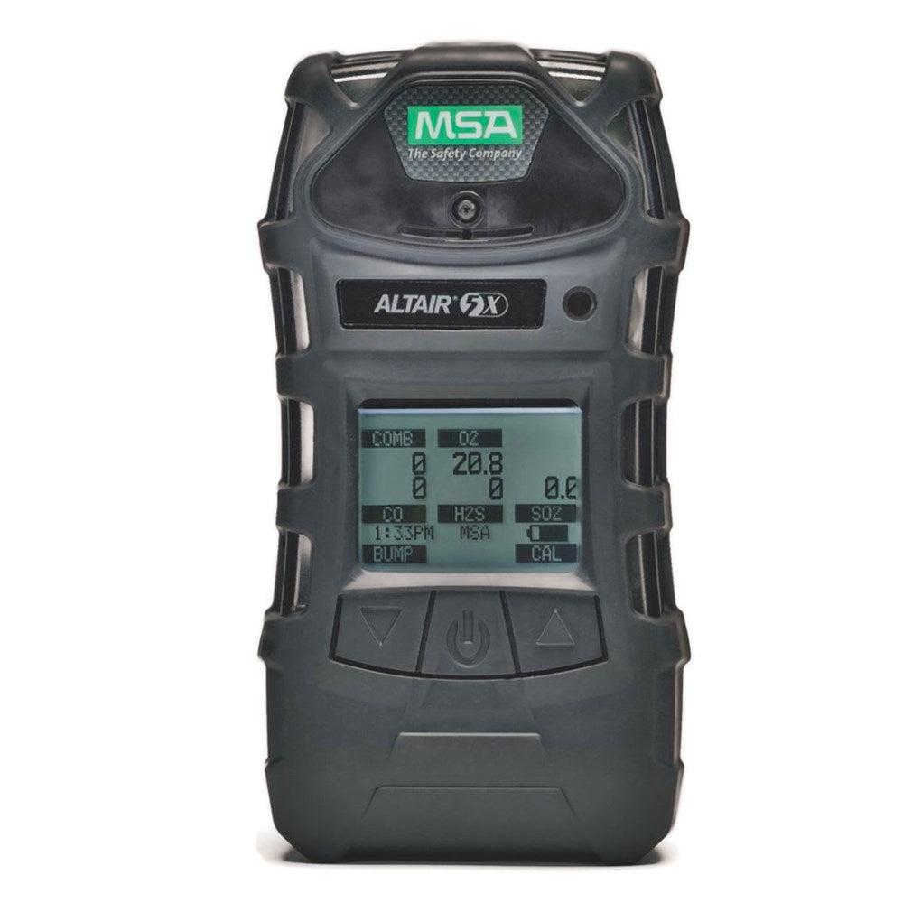 MSA Altair 5X Gas Detector: PID, LEL, CO, H2S, O2, NH3 10.6EV with reactive probe