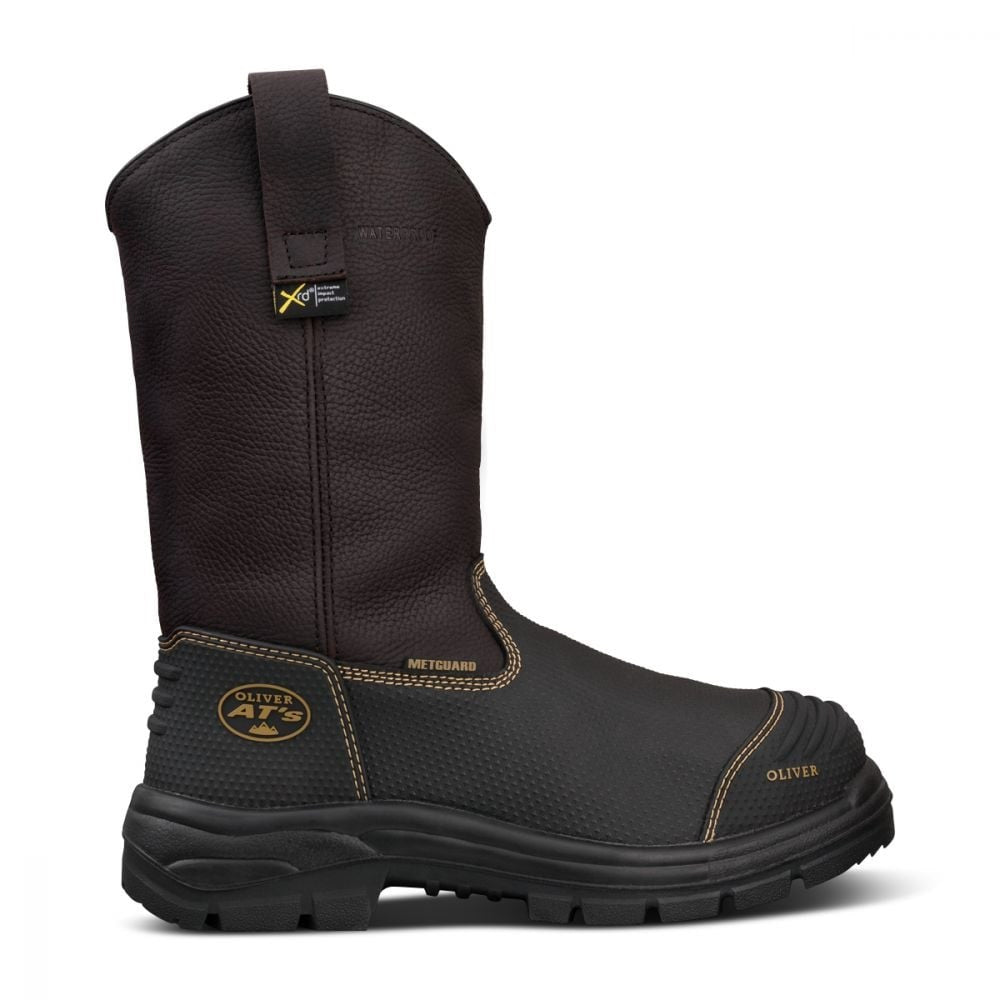 Oliver 240mm Pull On Riggers Boot (65-493) - 100% Waterproof