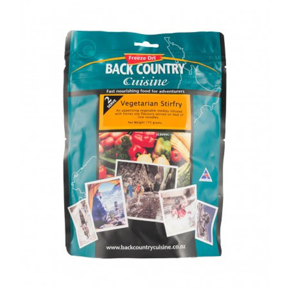 Back Country food packs - Vegetarian Stirfry