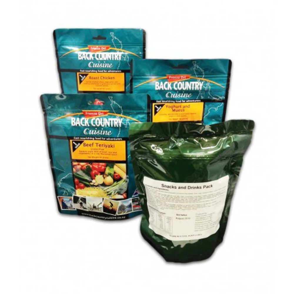 Back Country food packs - Ration Pack Adventure