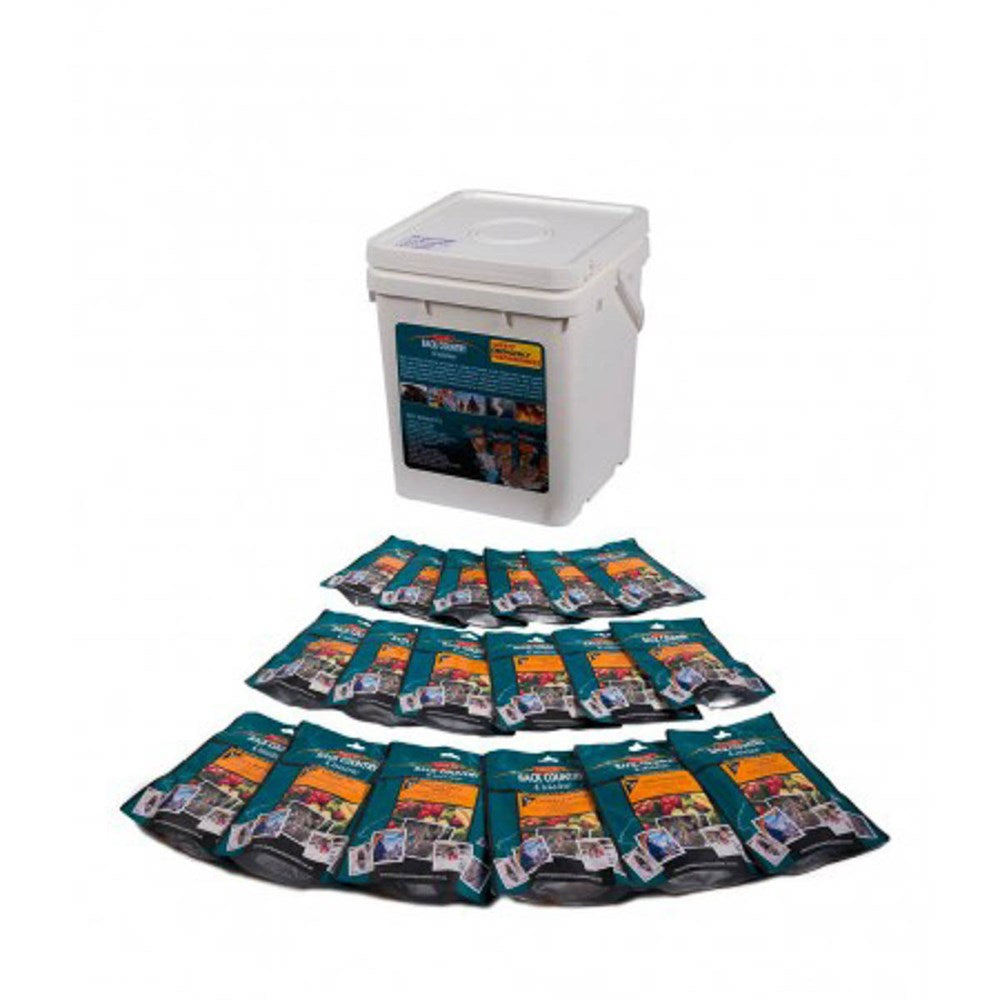 Back Country food packs - BC Emergency Bucket
