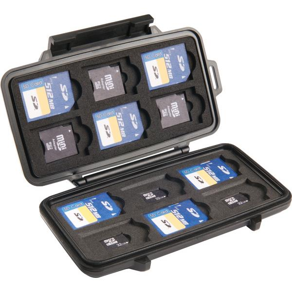 Pelican 0915 SD/SD Mini Memory Card Case