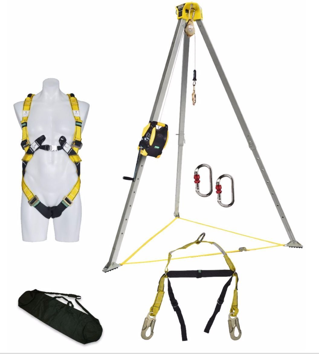 MSA Confined Space Entry Kit with Workman Rescuer