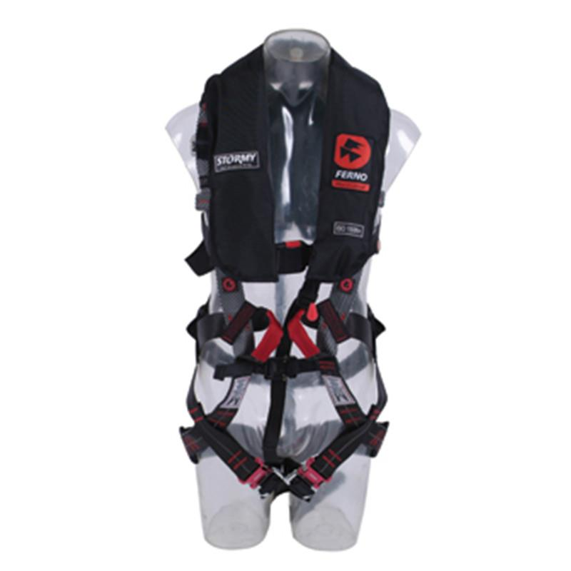 Ferno Challenge Pro Harness with Auto Inflate PFD
