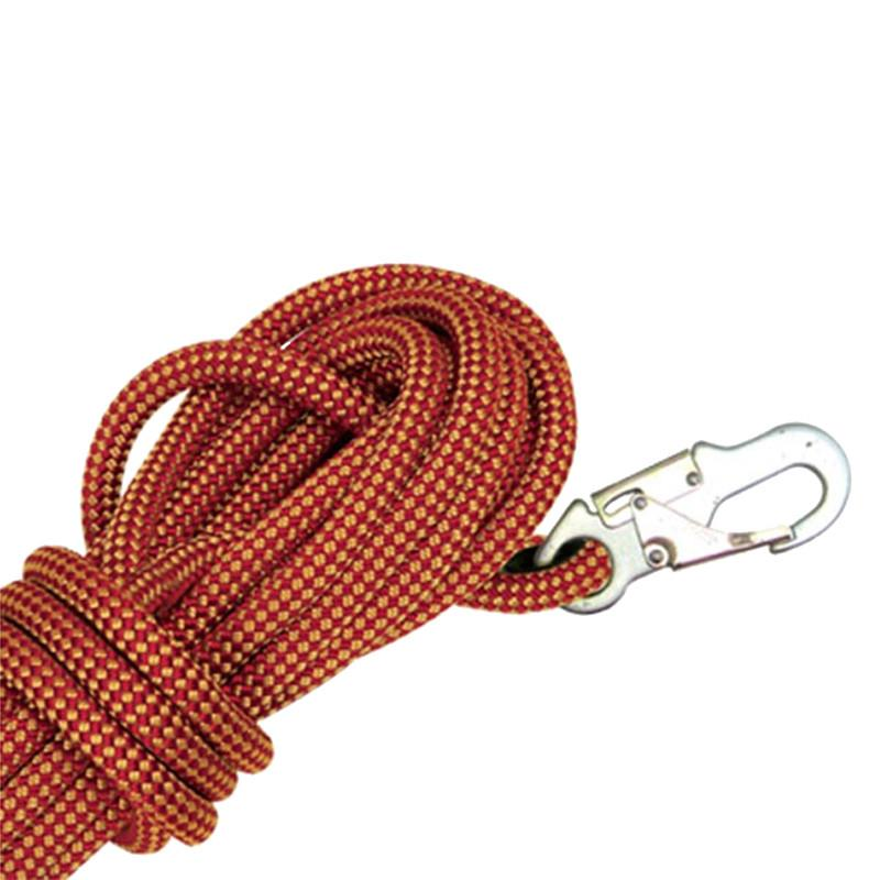 Hi-safe Kernmantle Rope Static Line with Double Action Hook