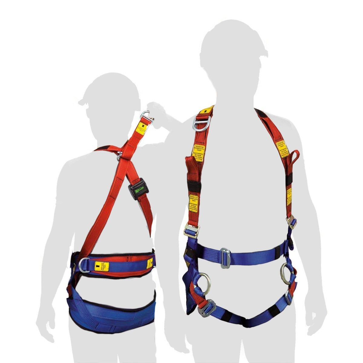 Sale! Miller Tower Worker Harness - original classic blue/red style