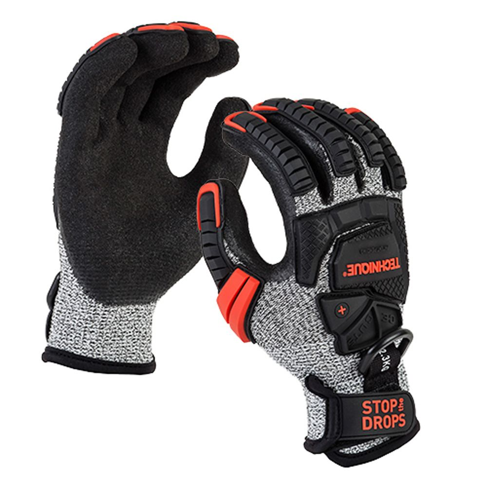 Technique GRIPPS Impact Glove - Cut 5 (with Tether Point)