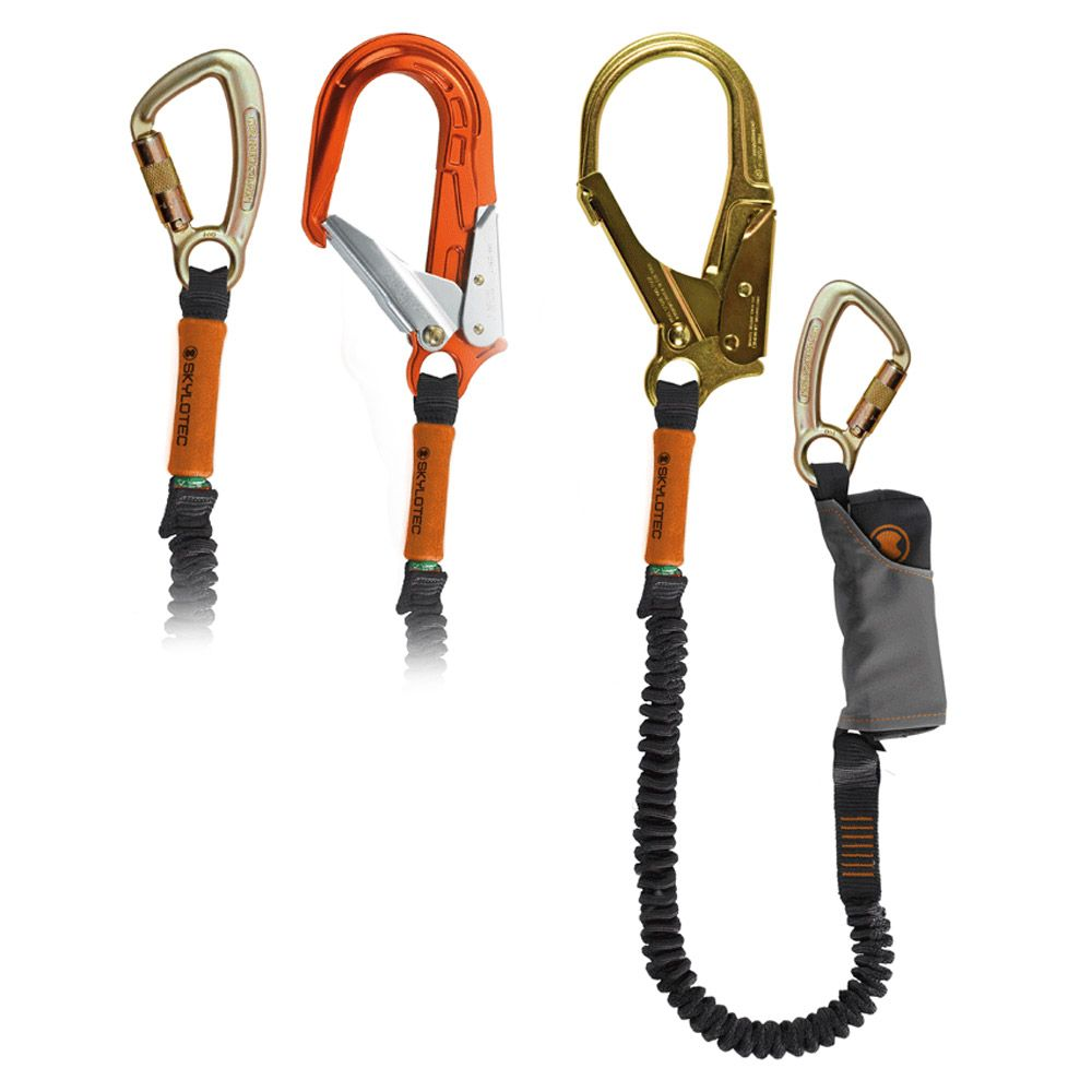 Skylotec Skysafe Pro Flex - single elastic lanyard