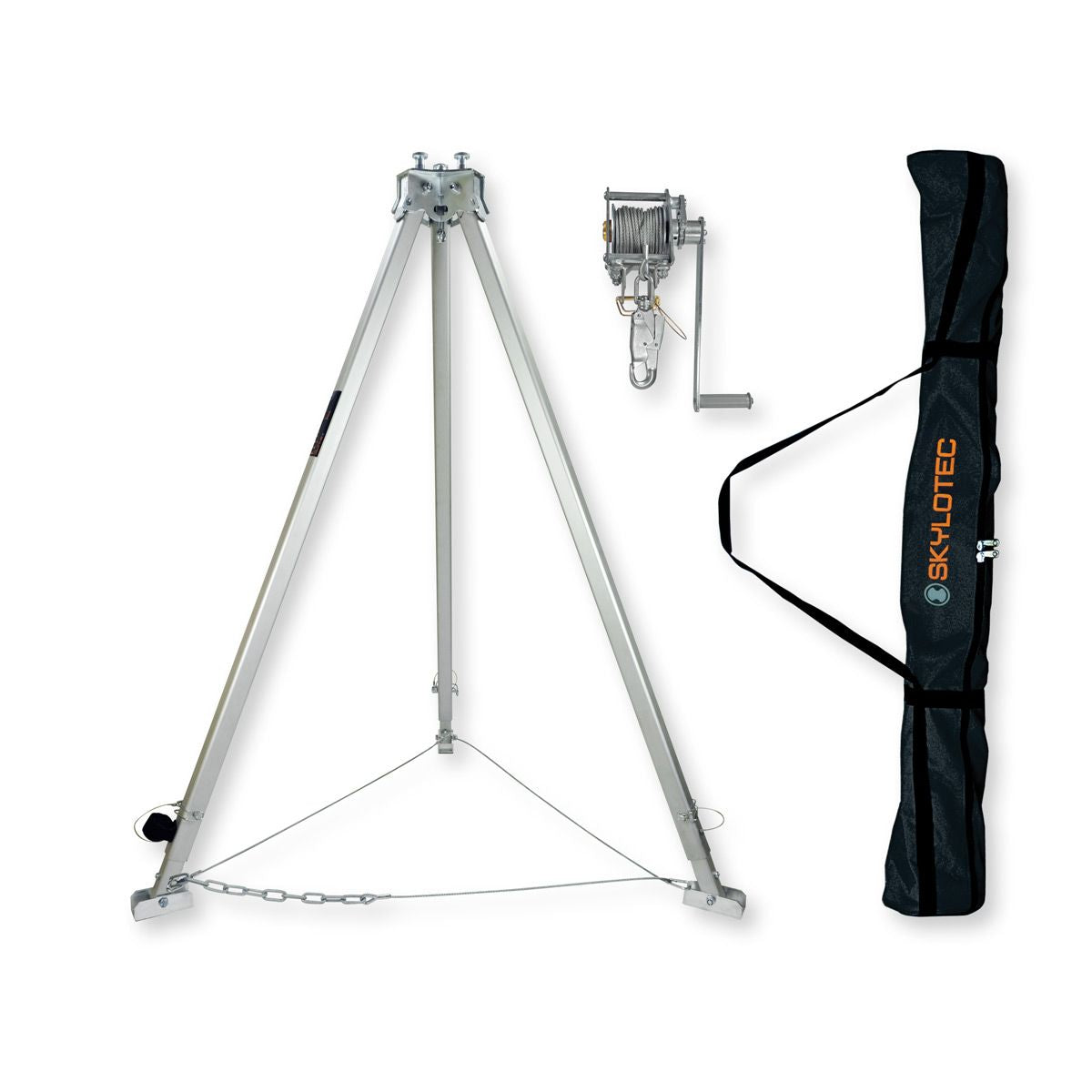 Skylotec TRIBOC EQUIPPED tripod kit with winch & bag