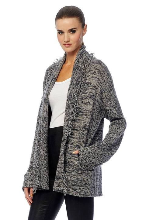 360 Skull Cashmere Holly Shawl Cardigan - Luxe EQ