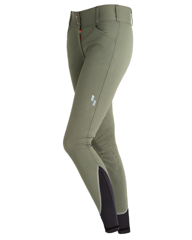Struck WOMEN'S 50 SERIES SCHOOLING Breeches Sage - Luxe EQ