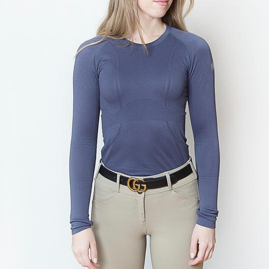 TKEQ Kennedy Long sleeve Seamless Shirt - Luxe EQ