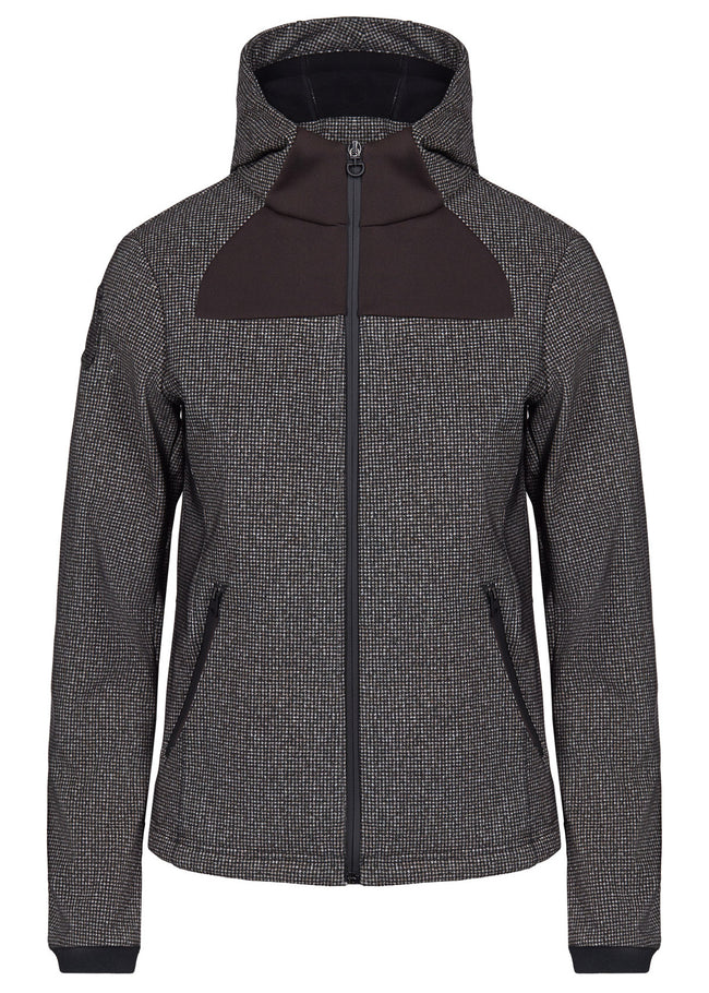 Cavalleria Toscana Hooded Jacket With Piquet Inserts FED070 - Luxe EQ