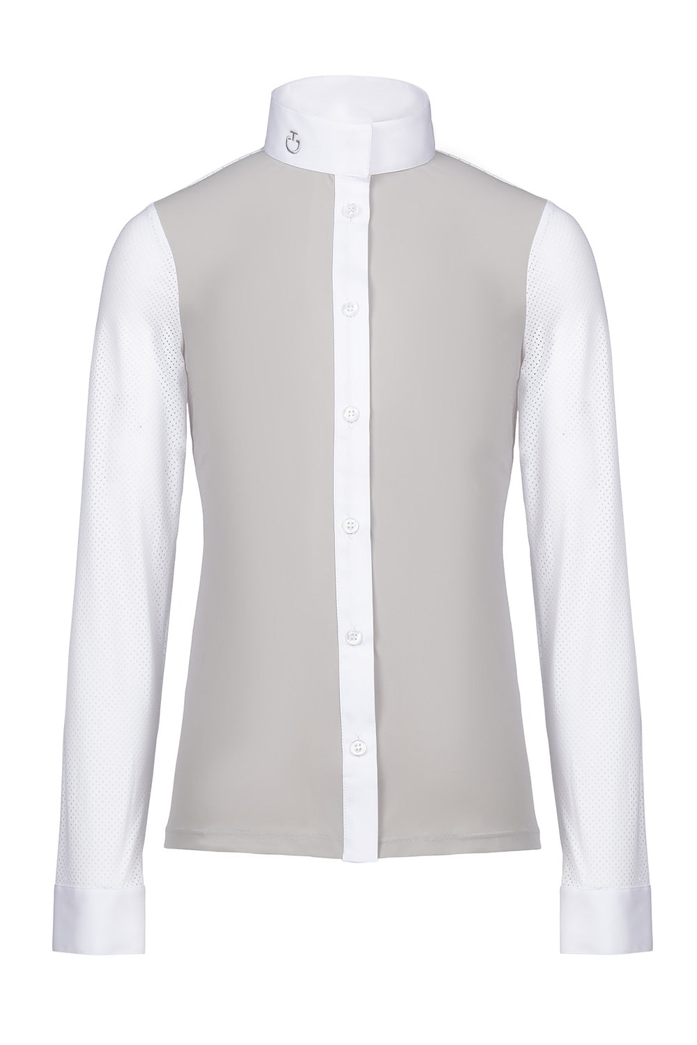 Cavalleria Toscana Young Riders Perforated Jersey Shirt - Luxe EQ