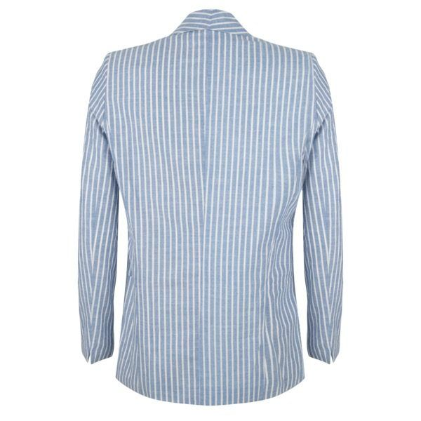 Esqualo Blue striped jacket - Luxe EQ
