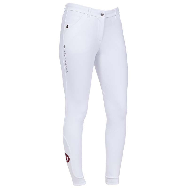 Cavalleria Toscana Women's Hinomaru Breech White - Luxe EQ
