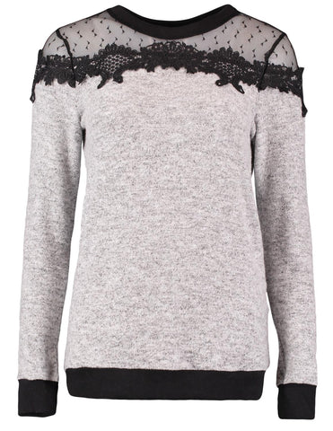 Wooden Ships Mini Stella V neck Sweater Bold Ink