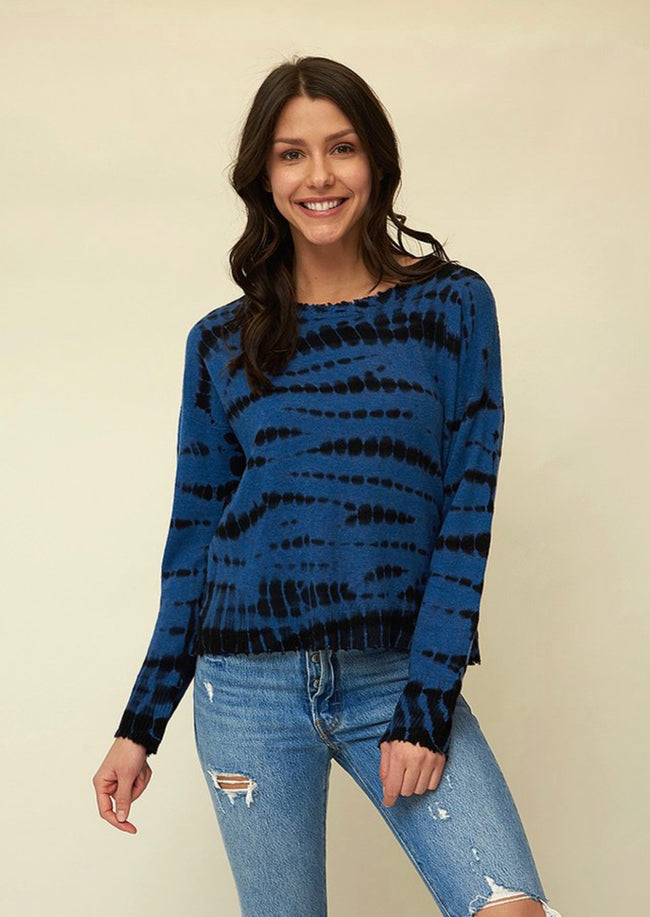 Design History Cashmere Tie Dye Sweater