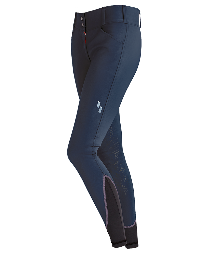 Struck WOMEN'S 50 SERIES SCHOOLING Breeches NAVY - Luxe EQ