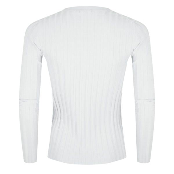 Esqualo Ribbed Sweater Tee - Luxe EQ