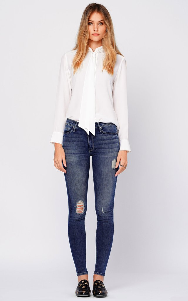 Black Orchid Denim Gisele High Rise Jean - Luxe EQ