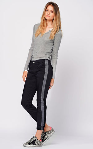 Black Orchid Denim Jude Mid Rise Skinny Basically Wash