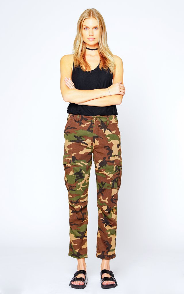 Black Orchid Military Cargo Pant