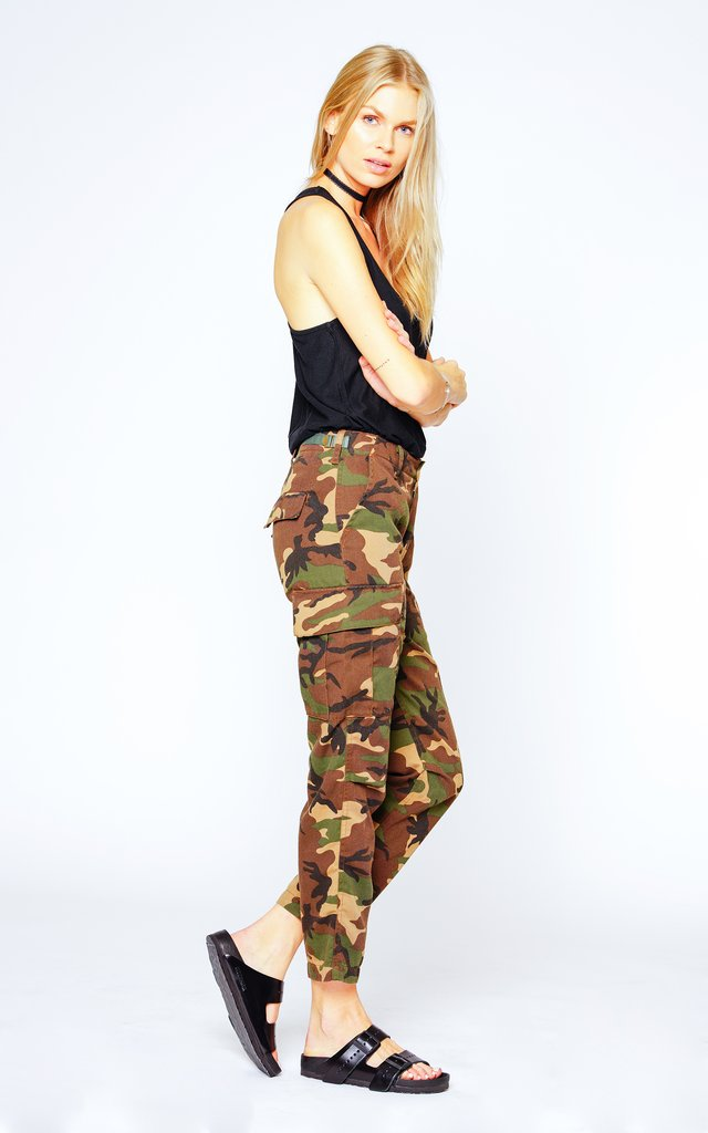 Black Orchid Military Cargo Pant - Luxe EQ